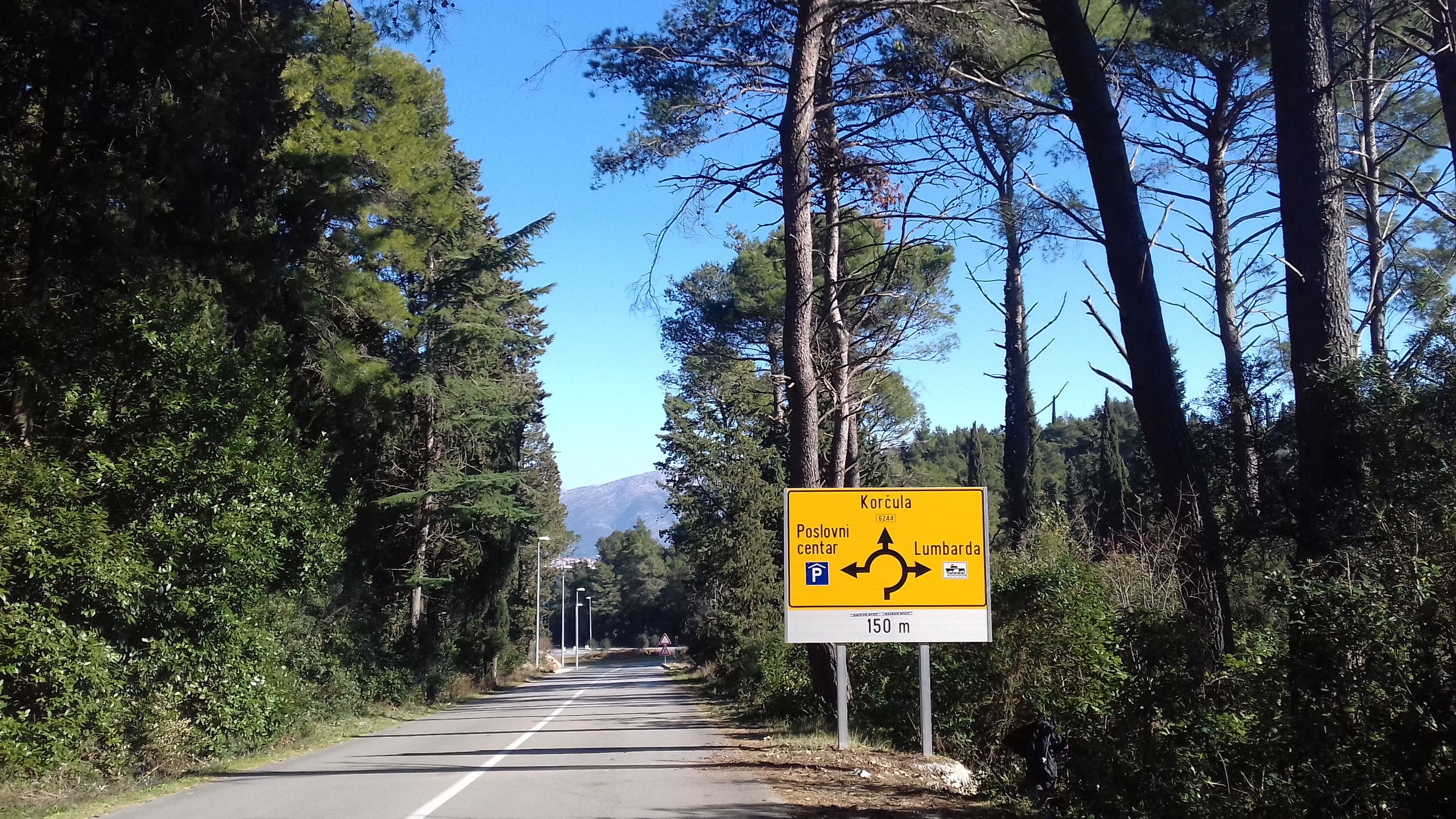 Izvedena zupanijska cesta 6244